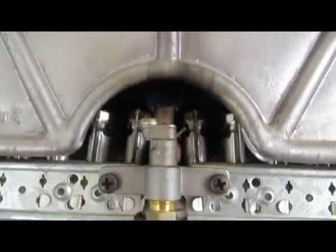 РЕМОНТ Termet Колонка газовая Тухнет фитиль (запальник)