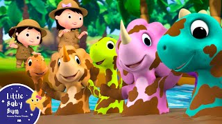 Ten Little DINOSAURS! - Counting Song | Little Baby Bum - New Nursery Rhymes for Kids