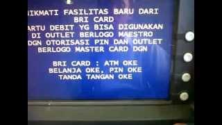 Pembayaran Prudential Melalui ATM BRI