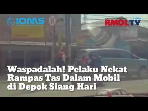 Waspadalah! Pelaku Nekat Rampas Tas Dalam Mobil di Depok Siang Hari