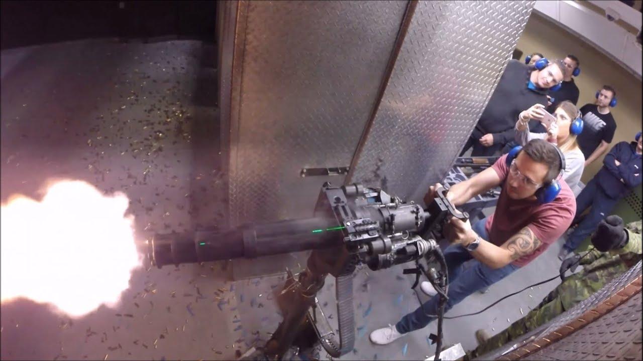 Тир Battlefield в Лас-Вегасе - шумное развлечение за 1000$