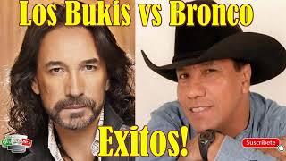 Los Bukis Vs Bronco, Marco Antonio Solis Vs Guadalupe Esparza   Exitos Disco Completo!