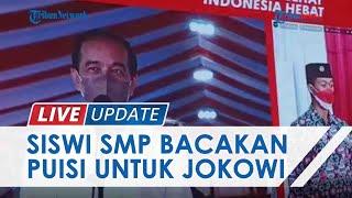 TRIBUNNEWS LIVE UPDATE : Baca Puisi di Depan Presiden Jokowi, Pelajar SMPN 7 Tarakan Dapat Sepeda