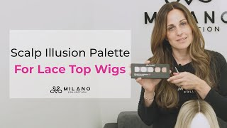 Milano Collection Scalp Illusion Kit- Knot Concealing Wig Makeup For Lace Top Wigs
