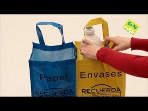 Reciclaje briks, plásticos, latas, papel y cartón - Ecoembes - generacionnatura.org - YouTube