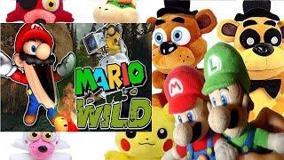 The Mario Channel: Mario Vs Wild Mario And Luigi (GoldenFreddy,Freddy,Foxy,Pikachu,Mangle,BowserJr)