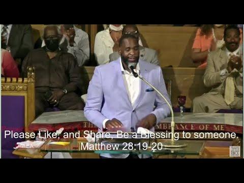 Ex-Detroit Mayor Kwame Kilpatrick preaches at Detroit church