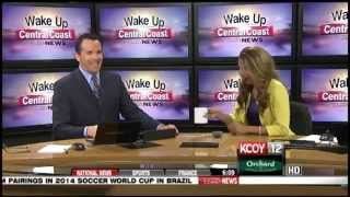 Funny News Blooper Weather Anchor Dumps Water On Herself