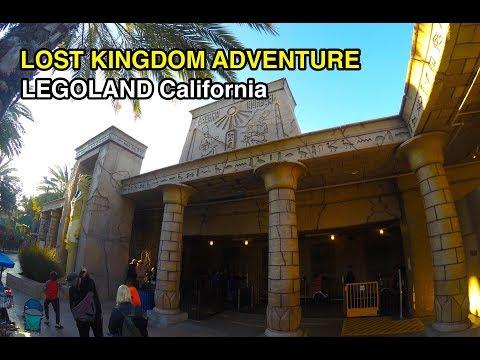 [4K] Lost Kingdom Adventure - Legoland California