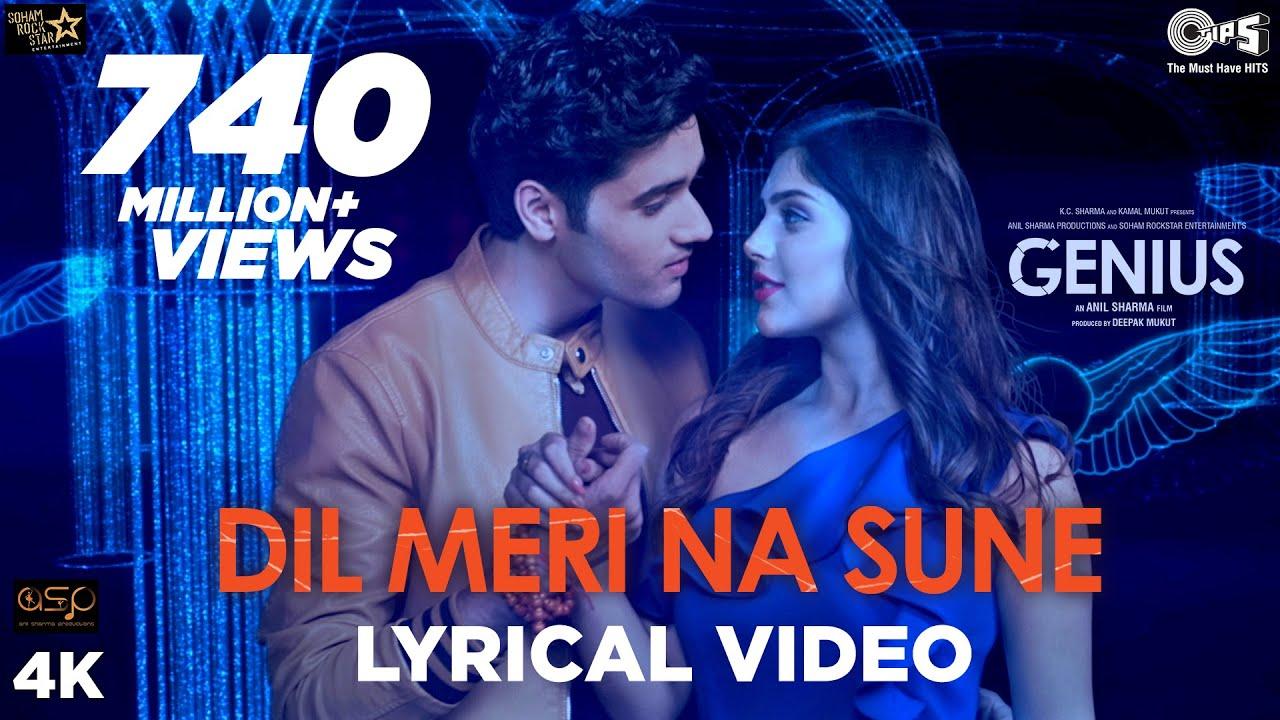 Dil Meri Na Sune Lyrical - Genius | Utkarsh, Ishita | Atif Aslam | Himesh Reshammiya | Manoj - Atif Aslam Lyrics in hindi