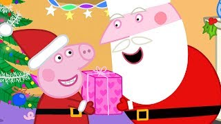 Peppa Pig English Episodes 🎄 Santa's Grotto 🎄 Peppa Pig Christmas   Peppa Pig Official