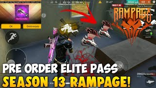 free fire new elite pass season 13 gameplay - TH-Clip