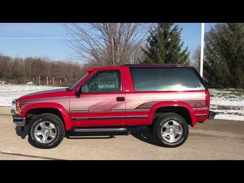 1993 Chevrolet K1500 Blazer in Big Bend, Wisconsin - Video 1