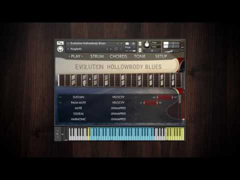 Video for Evolution Hollowbody Blues - Factory Preset Walkthrough
