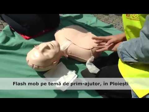 Flash pe temă de prim-ajutor, în Ploiești