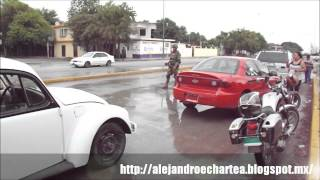 preview picture of video 'Retenes vehiculares en Ciudad Victoria, Tamaulipas'