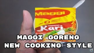 Maggi Mee New Cooking Style (Curry Favour)  美极快熟面新煮法咖喱口味 Maggi Goreng Telur