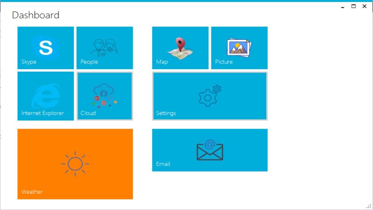 Windows Forms: Metro Modern Flat UI Dashboard winform Design in C#