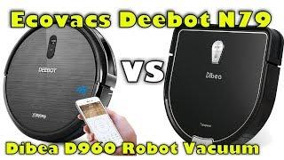 Ecovacs Deebot N79 vs Dibea D960 Robot Vacuum