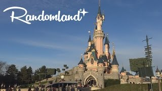Disneyland Paris' Castle & EPIC DRAGON! Randomland