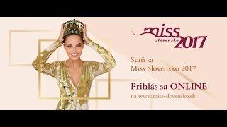 Miss Slovensko 2017 Casting Teaser