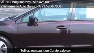 2013 Subaru Impreza for sale in Mechanicsburg, PA 17055 at t