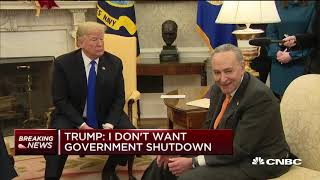 Trump, Pelosi and Schumer get into Oval Office argument over border wall and shutdown