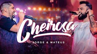 """Confira a nova música da dupla Jorge & Mateus!   Para ouvir """"Cheirosa"""" em todos os aplicativos de música: https://SomLivre.lnk.to/Cheirosa_Ao_Vivo  Siga a dupla Jorge & Mateus nas redes sociais!  Facebook: https://www.facebook.com/jorgeemateus Youtube: https://www.youtube.com/jorgeemateus Instagram: https://www.instagram.com/jorgeemateus/ Twitter: https://twitter.com/jorgeemateus  Música: Cheirosa   Gravadora: Som Livre / AudioMix Records  Produção Musical: Neto Schaefer  Direção: Anselmo Troncoso  Compositor: Angelim   Letra Música: Cheirosa  Se eu dissesse que tá tudo bem Eu estaria mentindo pra vocês A marca de sol da aliança no meu dedo mostra  que ela me deixou tem menos de um mês  Na fronha ainda tem o cheiro do shampoo Na mente ainda tem ela usando aquele baby doll azul Por isso, essa gelada eu vou beber Em homenagem a saudade que eu tô da minha cheirosa  Que jurou na minha cara que a gente não tem mais volta Essa gelada eu vou beber Em homenagem a saudade que eu tô da minha cheirosa Se ela não voltar pra mim esse mundão pode acabar agora"""