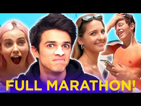 GO ON VACATION W/ BRENT RIVERA! Dream Vacation Compilation w/ Lexi Rivera, Ben Azelart, Lexi Hensler
