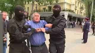 Задержания на акциях протеста в Казахстане