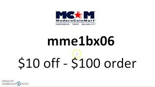 $10 off MCM Coupon on $100 Order