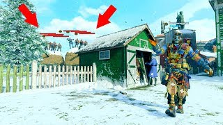 THEY WERE ALL TRYING TO CHEAT HIDING OUTSIDE THE MAP ON NUKETOWN!!! HIDE N' SEEK ON *BLACK OPS 4*