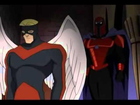X Men Evolution Angel Meets Magneto