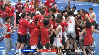ECC Semifinals Highlights: NFA 65, Waterford 40