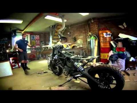 SC Rumble – Das Custom-Bike von Pirelli und Ducati