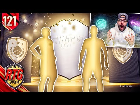 I PACKED 2 ICONS OMG!!!! FIFA 19 Ultimate Team RTG #121