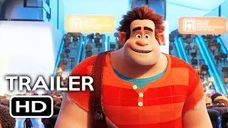 Wreck-It Ralph 2 Official Trailer #1 (2018) Ralph Breaks the Internet Disney Animated Movie HD