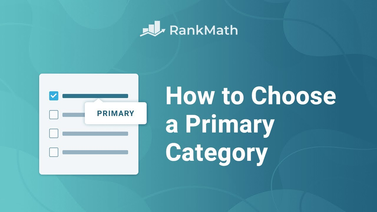 How to Choose a Primary Category in WordPress? Rank Math SEO
