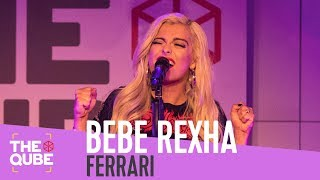 Bebe Rexha - 'Ferrari' (live in the Qube)