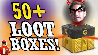 Suffering Jeff's WRATH! - Opening 50+ Overwatch 2018 Anniversary Loot Boxes
