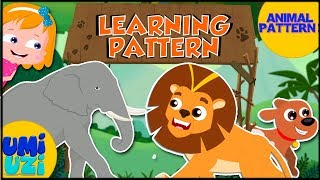 Animal Pattern | Educational Video For Kids And Toddlers