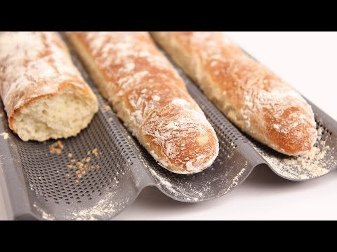 Homemade Baguette Recipe – Laura Vitale – Laura in the Kitchen Episode 713