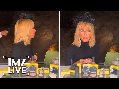[TMZ]  Suzanne Somers' Makeup Live Stream Hijacked by Home Intruder