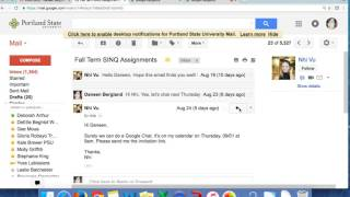 How to set up and send invitation to Google Hangout