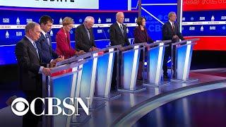 Democratic candidates describe their motto