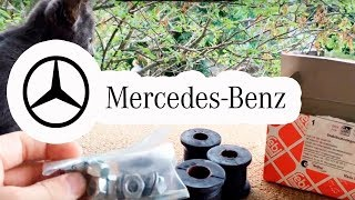MERCEDES W202 / Передняя подвеска. ЖЕСТКАЯ АНАЛИТИКА Сайлентбоки  / АutoDogTV / autodogtestparts #2
