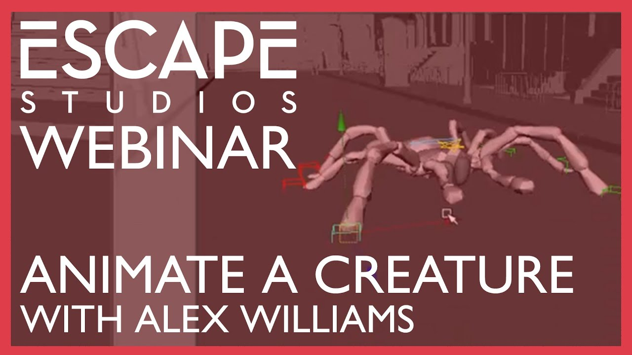 Animating a Multi-Legged Creature with Alex Williams