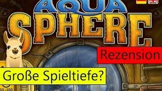 AquaSphere (Brettspiel) / Anleitung & Rezension / SpieLama