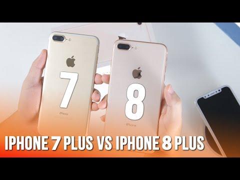 So sánh iPhone 7 Plus và iPhone 8 Plus, điểm khác biệt là gì