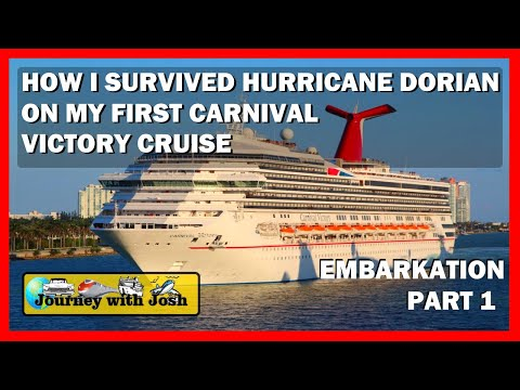Carnival Victory Hurricane Dorian Cruise 2019: Embarkation and First Impressions   Part One
